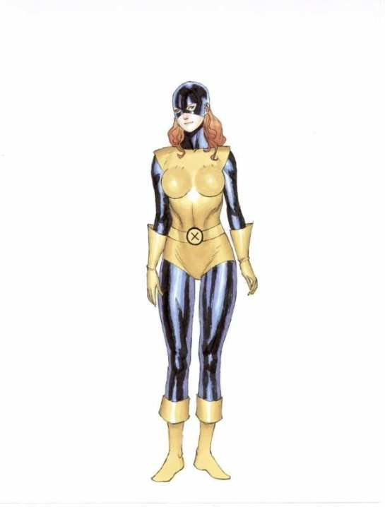 Marvel Girl Primer Uniforme