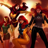 Jean Grey Evolutions: Avengers Cover Variante
