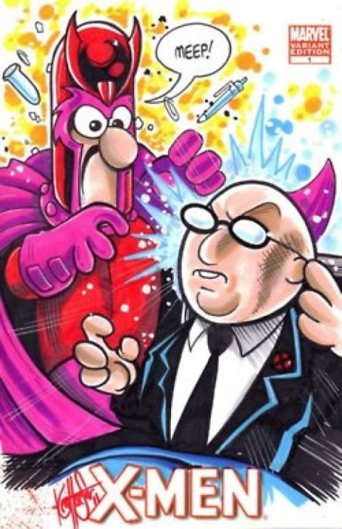 Ken haeser X-Men-Muppets-Mashup-1 (2)