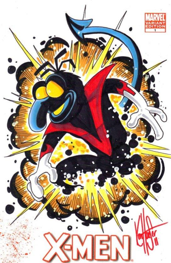 Ken haeser X-Men-Muppets-Mashup-1 (3)